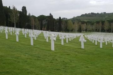 Cimitero Americano Falciani: 25 aprile