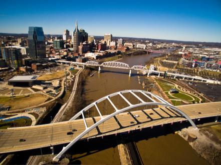 Aerial of Nashville
