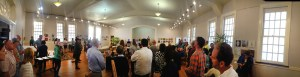 Foot by Foot opening at Seilers' Studio and Gallery and the awards ceremony.