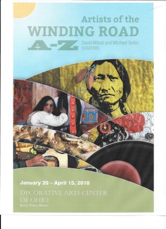 Artists of the Winding Road, A to Z, Curated by Michael Seiler and David Mitzel