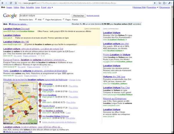   SEO : ne négligez pas la recherche locale