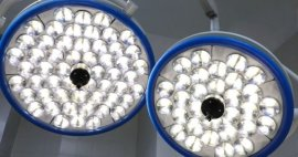 2 tipos de iluminación en las salas de quirófano