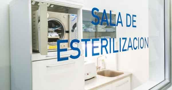 central de esterilización