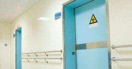 5 diferentes opciones de puertas con protección para Rayos X