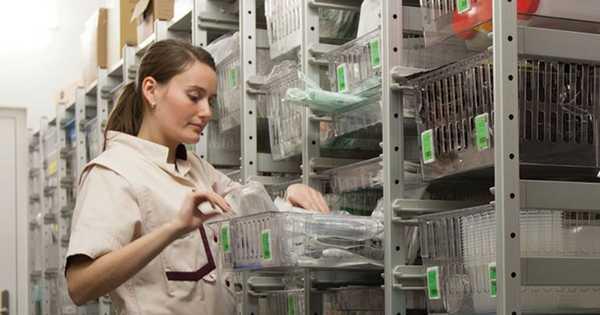¡Aprende como optimizar espacios para materiales médicos!