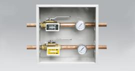 Cajas de seccionamiento valvulas gases medicos