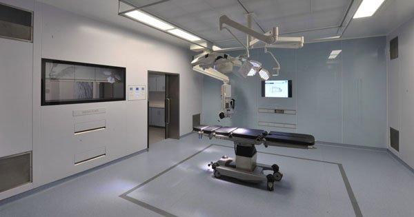 Características de la sala de cirugía del futuro