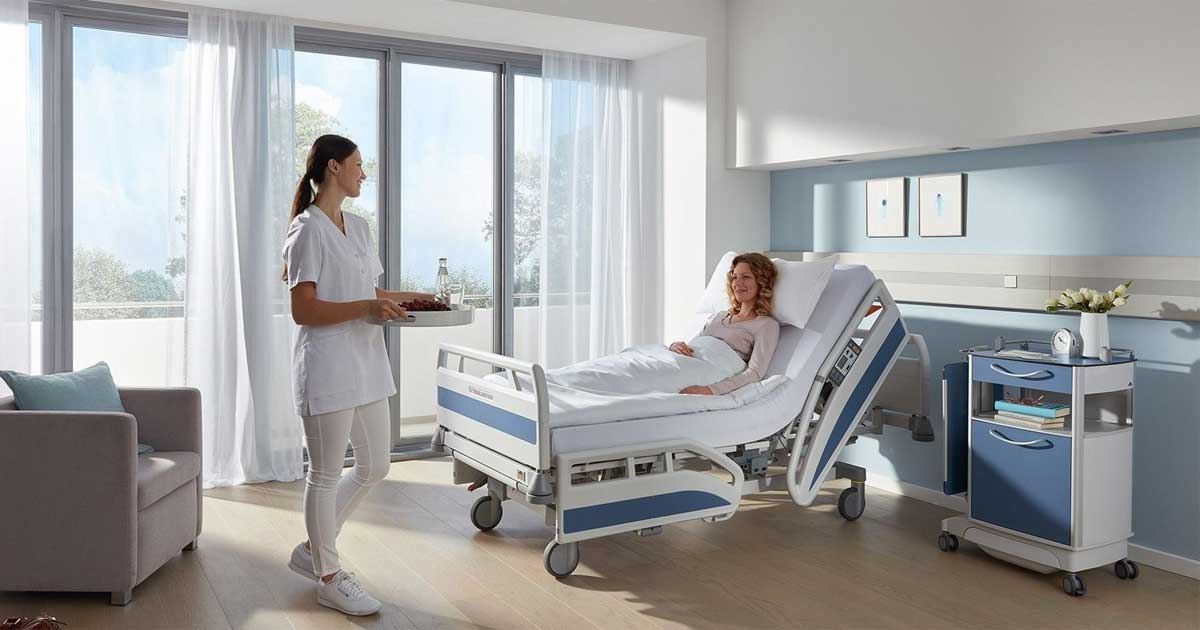 Características de una buena habitación de hospital
