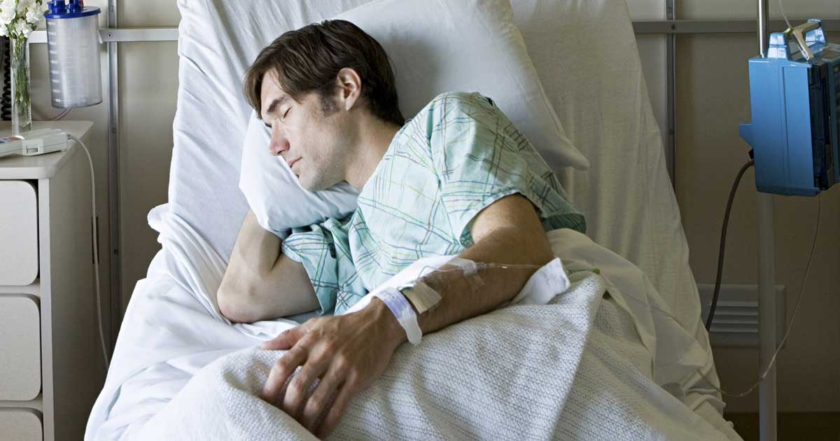 Cómo conciliar el sueño durante la estancia en el hospital