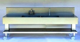 Datos sobre el lavabo de dos módulos para salas de cirugías