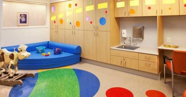 Diseño Interior Hospitalario Usado Como Tratamiento En Psiquiatría Infantil