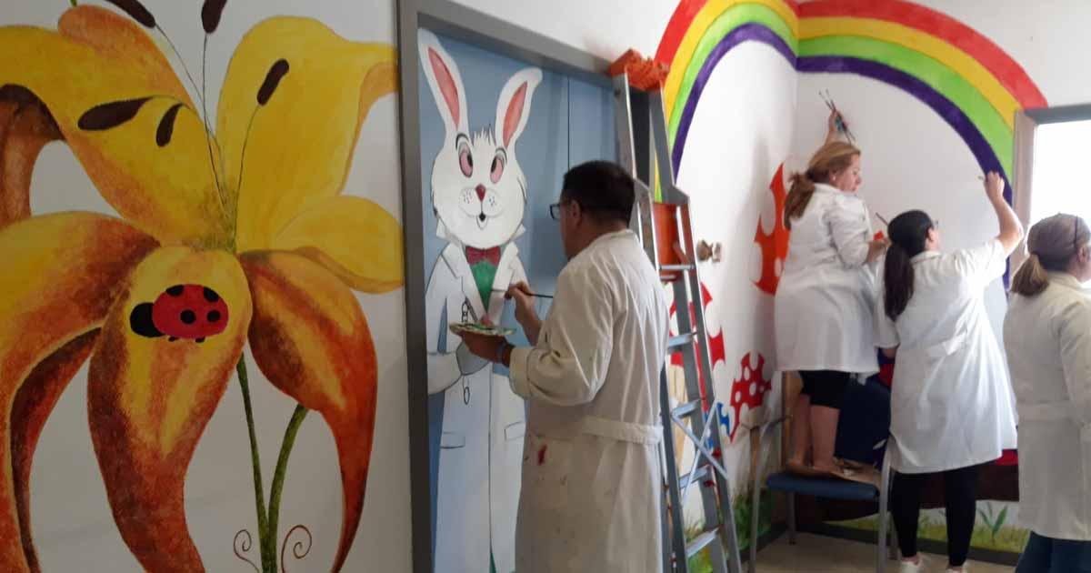 Importancia del arte y la decoración en ambientes hospitalarios