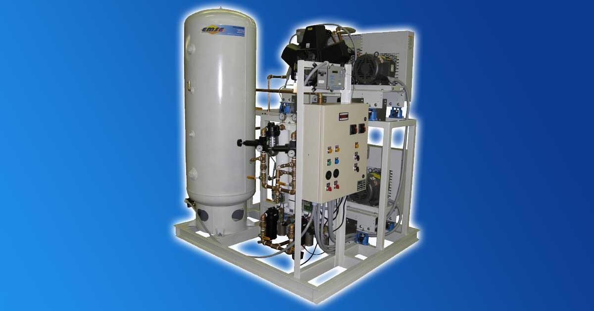 Importancia del funcionamiento del compresor de aire grado médico