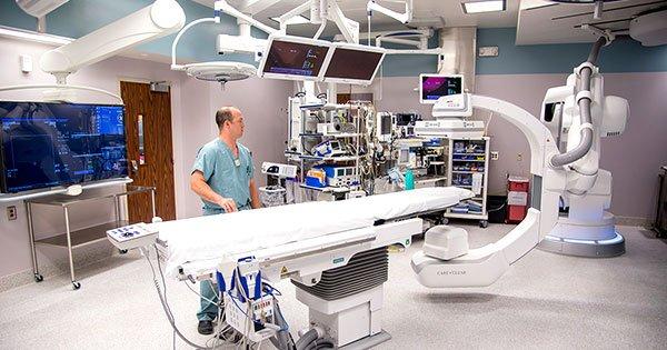 Innovación de la ciencia salas de quirófano híbridas