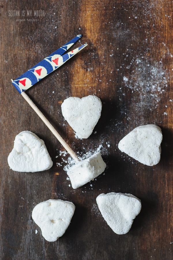 homemade vegan marshmallows | seitanismymotor.com