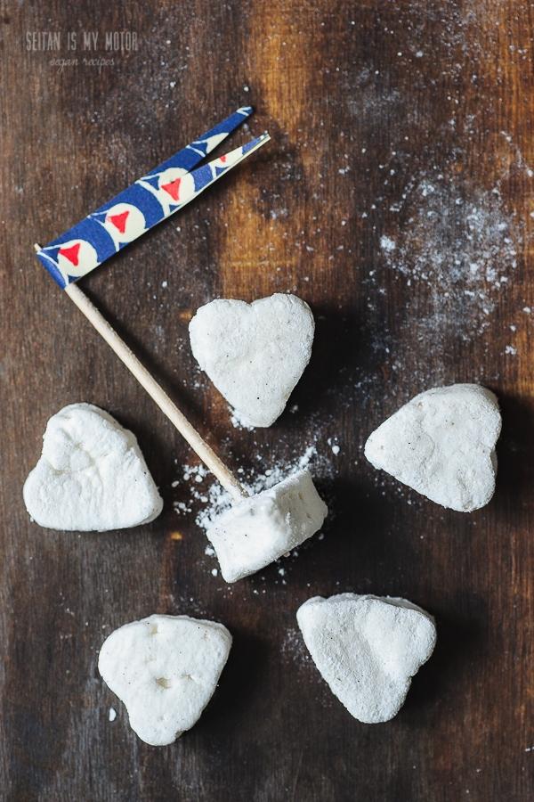 homemade vegan marshmallows | seitanismymotor.com