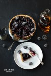 Blackberry Cheesecake with Whisky | seitanismymotor.com