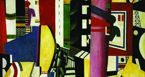 Lèger, La città, 1919, olio su tela