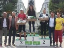 Paola Di Tillo sul podio a Vasto