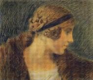 Giorgio Kienerk-Fra due luci-1915