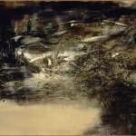 Zao Wu-Ki, 04.06.64, 1964, olio su tela. Fond. Gianadda