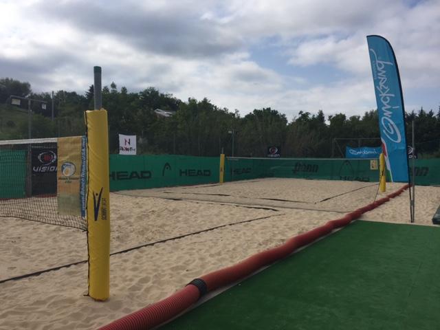 """City Beach, presso il Centro Sportivo """"La Baita"""" due campi da sport sulla sabbia nuovi di zecca"""