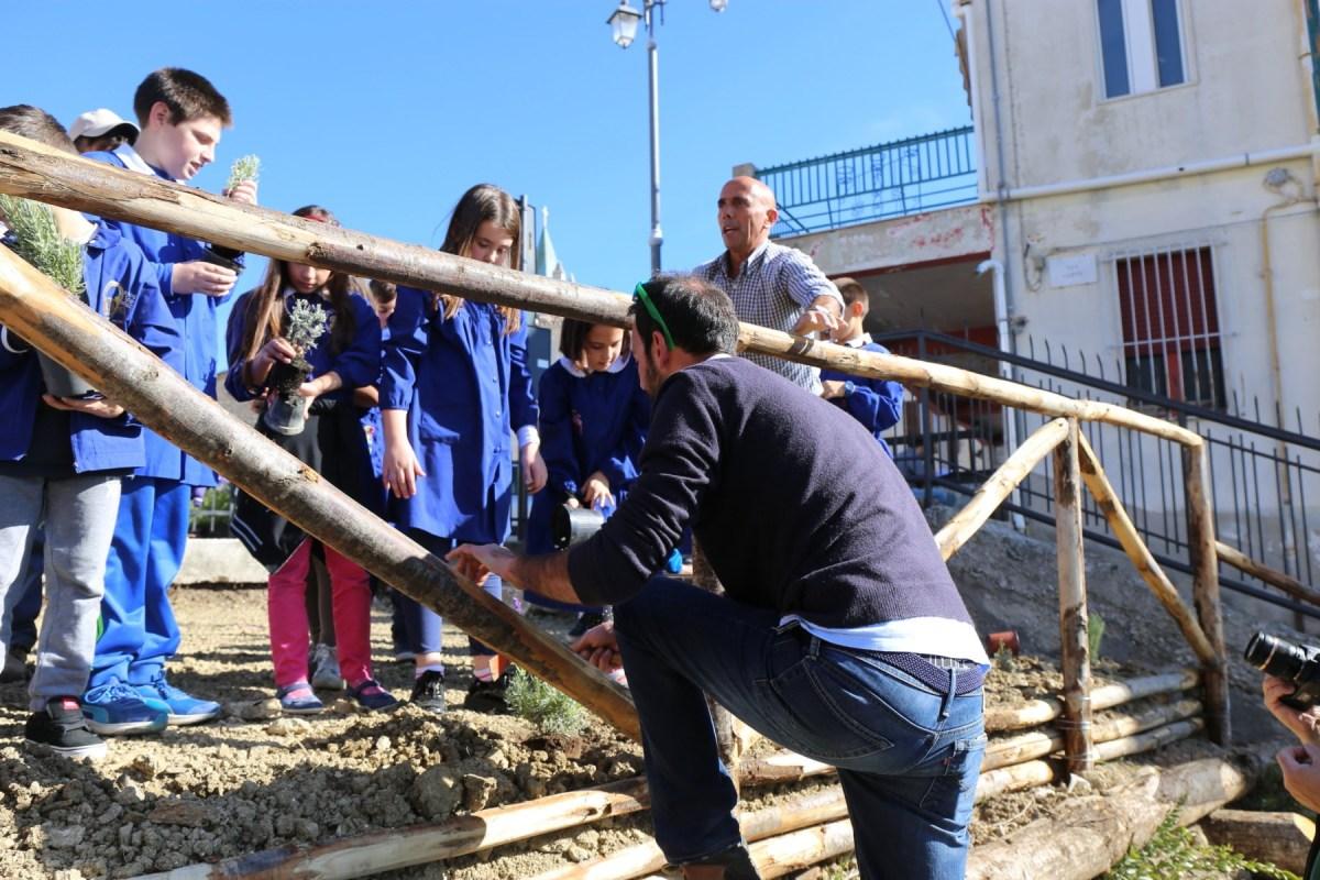 Ingegneria Naturalistica, a Ferrazzano il primo giardino sociale della biodiversità in Molise