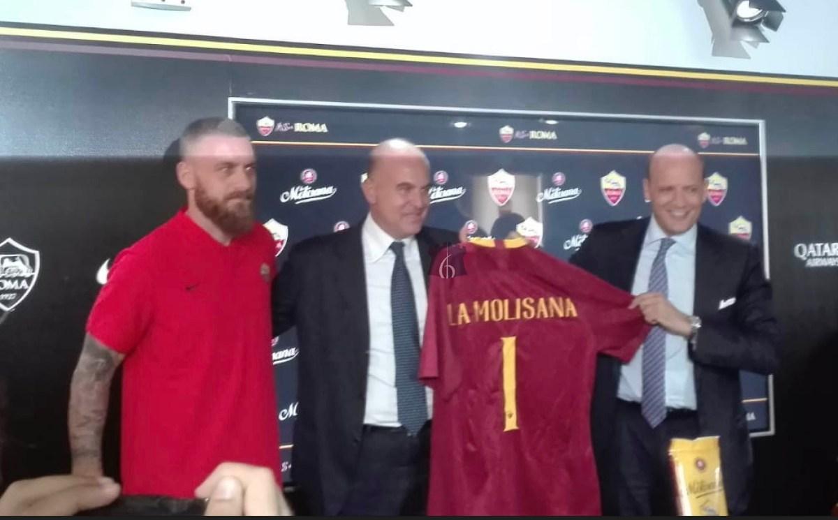 Il pastificio La Molisana nuovo Premium Partner della Roma
