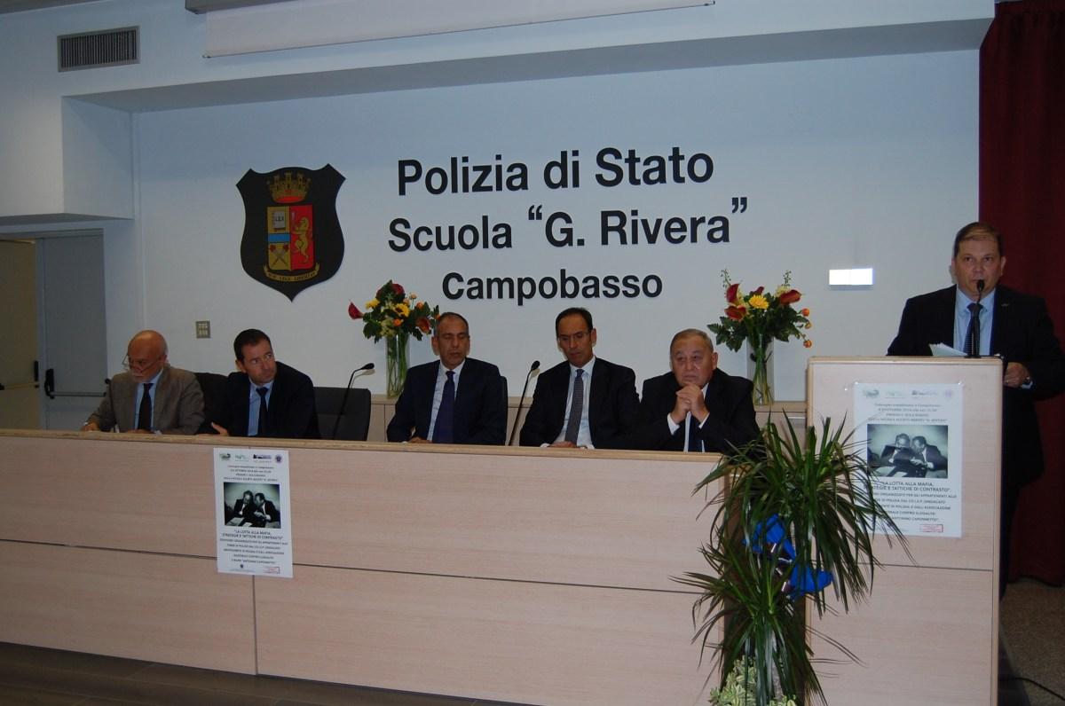 Contrasto alla mafia, successo per il convegno organizzato dal Coisp (GALLERY)