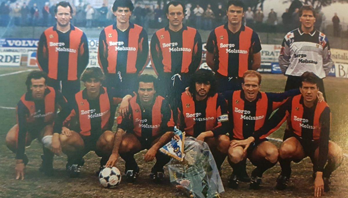 Forlì-Campobasso, unico precedente (con sconfitta) nel 1990. A fine campionato entrambe le formazioni retrocessero