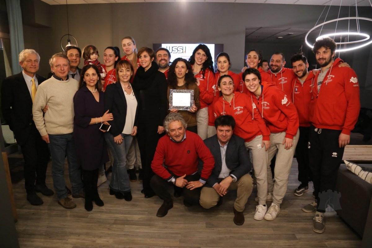 Il Premio Ussi 2018 alla Magnolia Basket Campobasso