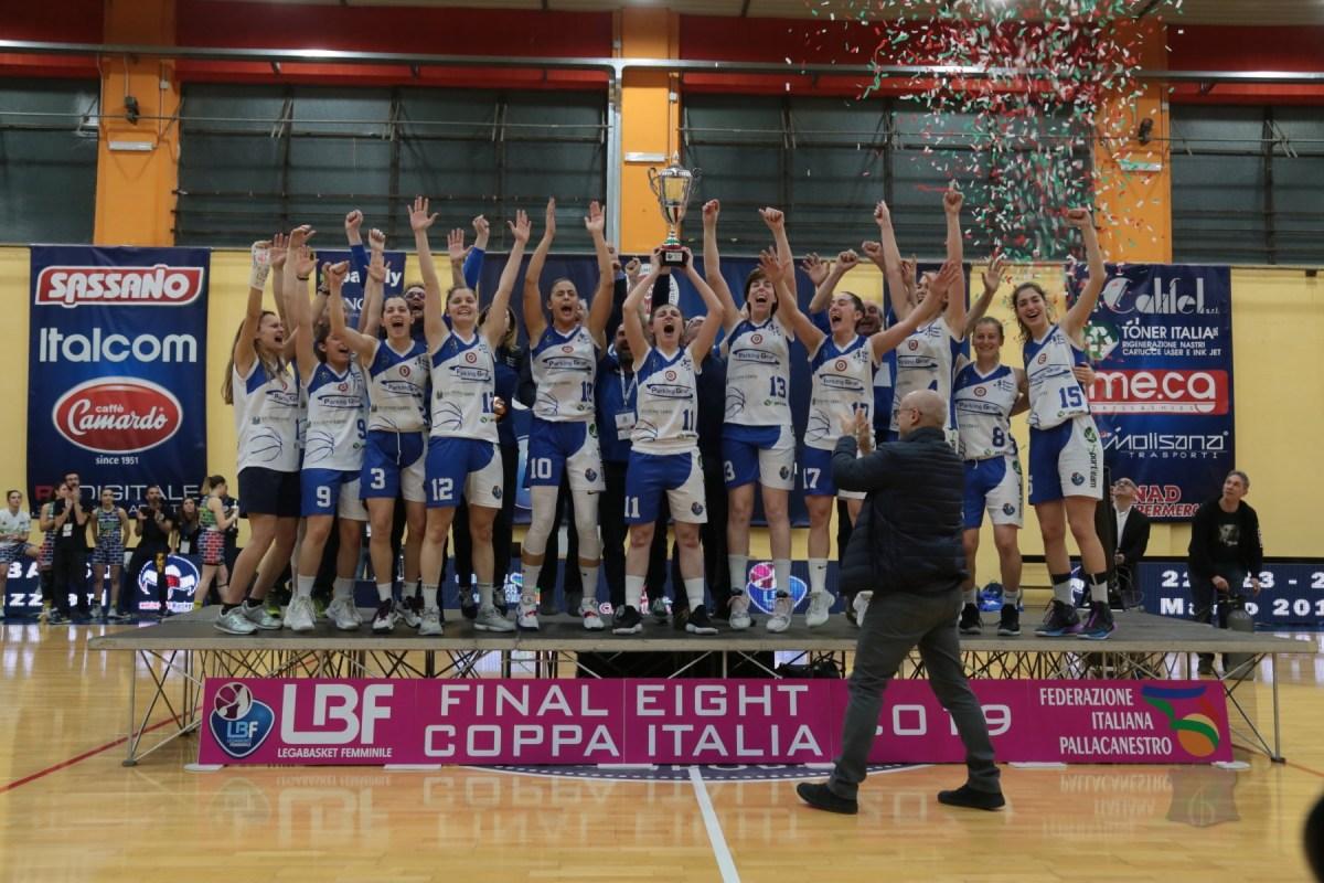 Basket, Crema conquista l'edizione campobassana delle Final Eight di Coppa Italia. Moncalieri si arrende 86-75 (GALLERY)