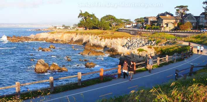 state park, state park monterey, monterey state park, parks in monterey, parks in california, The Monterey Bay Recreational Trail, The Monterey Bay Recreational Trail california