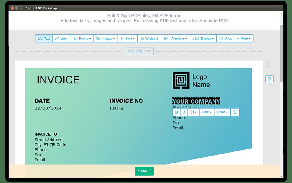 Sejda PDF Desktop For Mac 7.1.2 + LATEST Version Free Download 2021