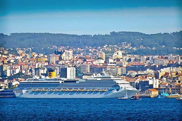Climat Mondariz Ria de Vigo Galice Espagne