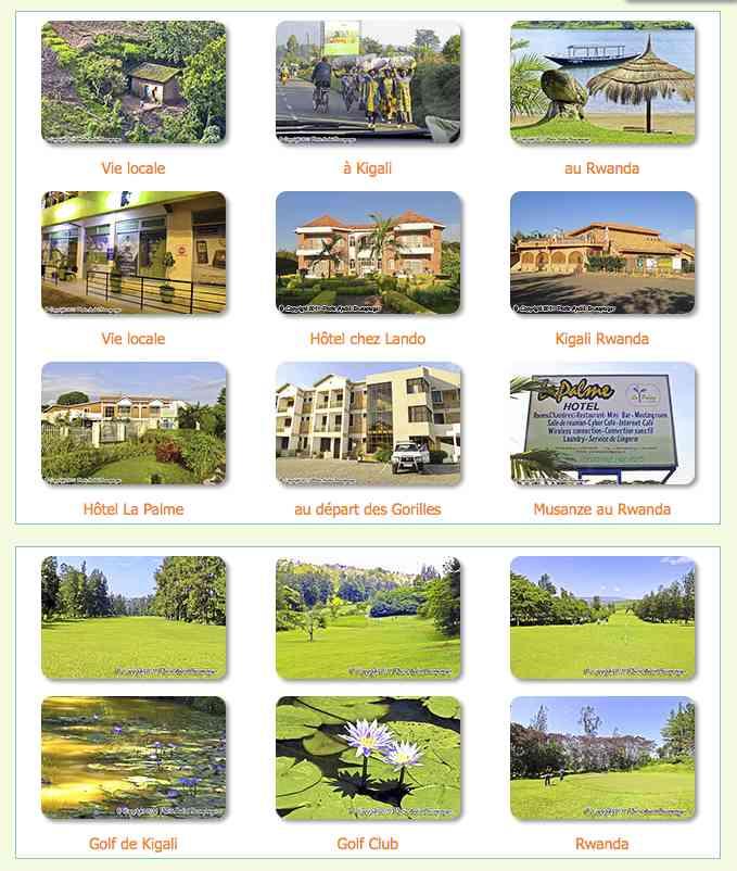 Voyage séjour Golf à Kigali Rwanda