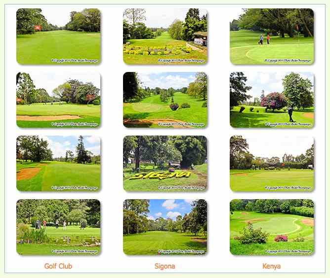 Voyage Séjour Golf Kenya à Sigona country club banlieue de Nairobi