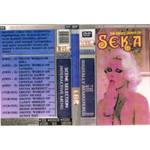 The Erotic World of Seka DVD Cover