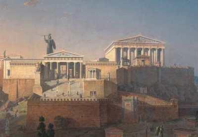 4.ポリス社会の成立と発展 アクロポリス ポリスの成立