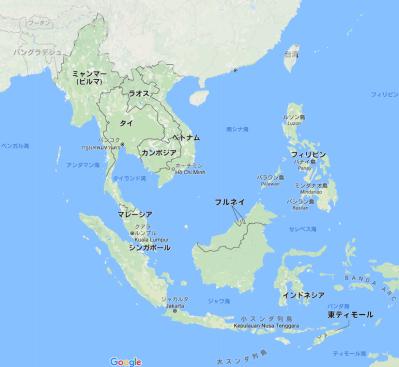 東南アジアの風土と民族