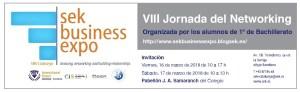 Fechas para la VIII edición de SEK BUSINESS EXPO: 16 y 17 de Marzo de 2018