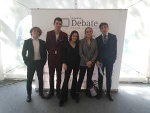 Cinco alumnos Bachillerato participaron en el torneo final de la III Liga de Debate CICAE- UCJC