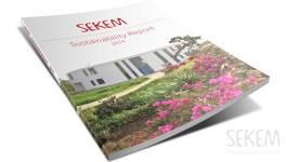 cover sustainability report, sekem 2014