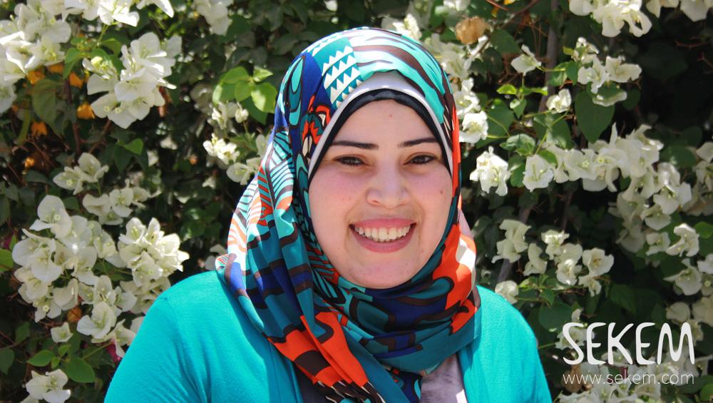 Magda Ibrahim Ali works in production at ISIS.