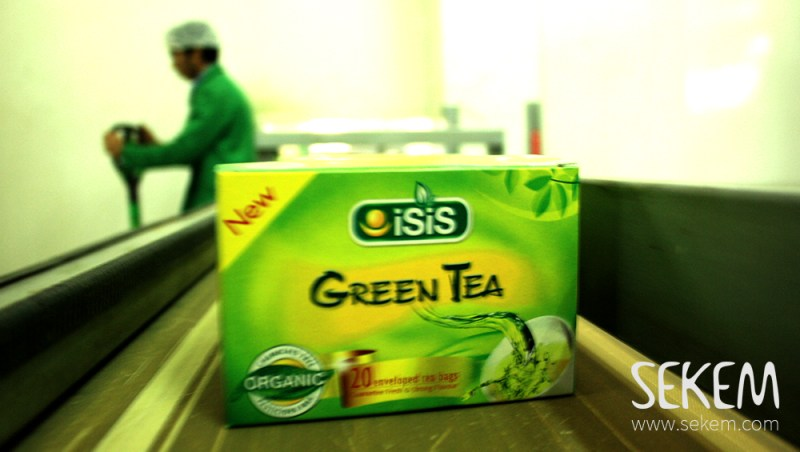 Beside other products ISIS Organic produces tea