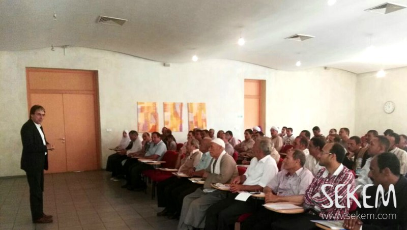 Helmy Abouleish inaugurated the Workshop