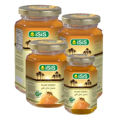ISIS Organic PlainHoney