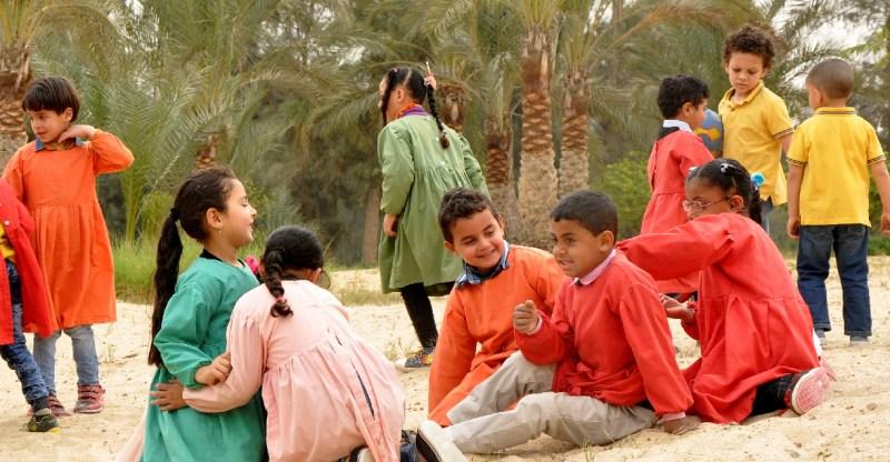 Children of SEKEMs Kindergarten Playing