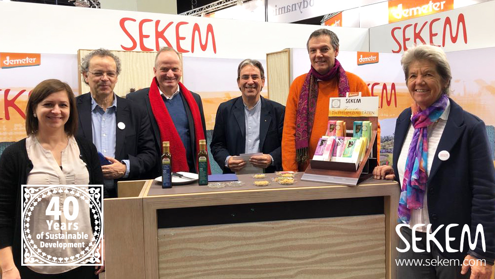 SEKEM at the BIOFACH 2018