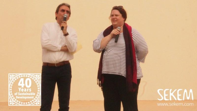 Helmy Abouleish und Maren Walter von Lebensbaum